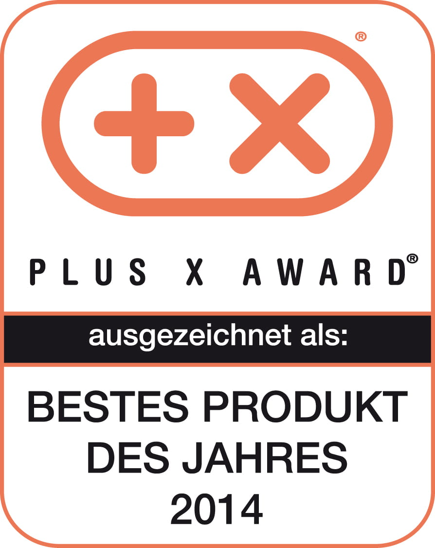 PlusX-Award 2014 - Best product