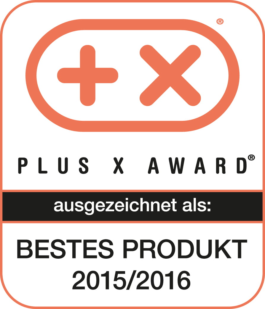 Plus-X-Award 2015 - Best product