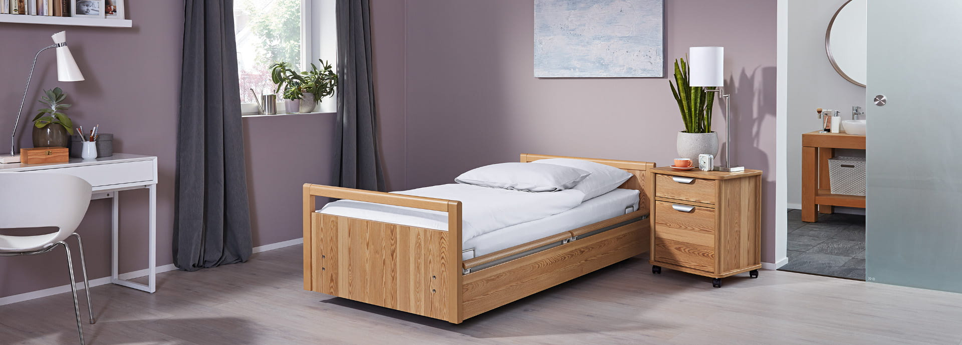sentida 6 - universal low nursing bed
