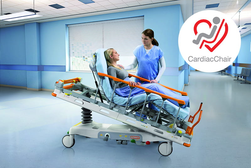 CardiacChair for better treatment, safety, and comfort