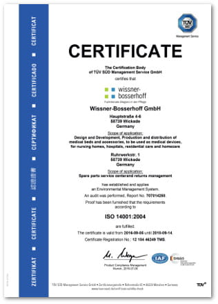 Quality And Environment Wissner Bosserhoff Wi Bo